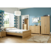 Montreaux Wardrobe - 2 Door - Oak Veneer alternative view