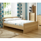 Montreaux Bed Frame - King - Oak Veneer