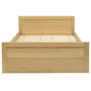 Montreaux Bed Frame - King - Oak Veneer alternative view