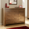 Victoria 4 and 4 Drawer Chest - Walnut Veneer main view