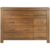 Victoria 4 and 4 Drawer Chest - Walnut Veneer alternative view