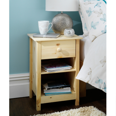 Ailsebury pine narrow bedside tablereviewcompare prices for Narrow dressing table