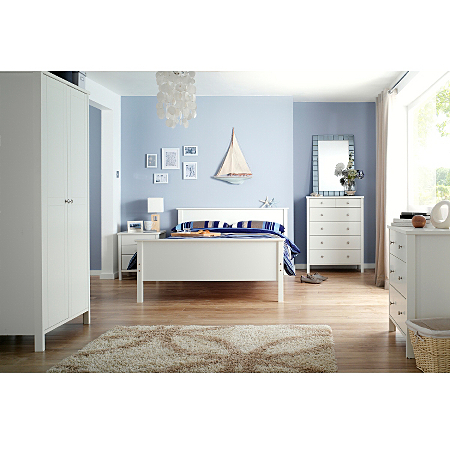 Baltic White Bedroom Range Bedroom Ranges Asda Direct