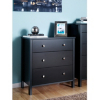 Baltic Wide Chest - 3 Drawer - Coffee main view