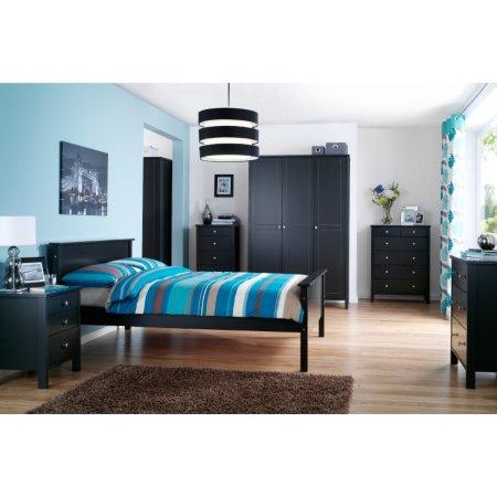 Baltic Black Bedroom Range