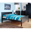 Baltic Double Bedframe - Black main view