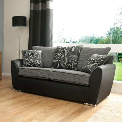 Danube Sofa bed  Black and Charcoal with   review, compare ...