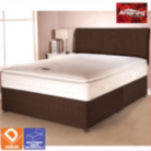 Airsprung Aspen Bed Brown Single - Various Storage