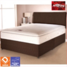 Airsprung Aspen Bed Brown Double - Various Storage