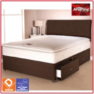 Airsprung Aspen Bed Brown Double - 4 Drawers