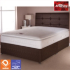 Airsprung Boston Bed Brown King - Various Storage