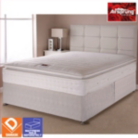 Airsprung Boston Bed Silver King - Various Storage