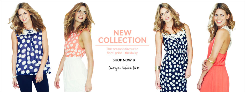 New Collection - This season's floral print