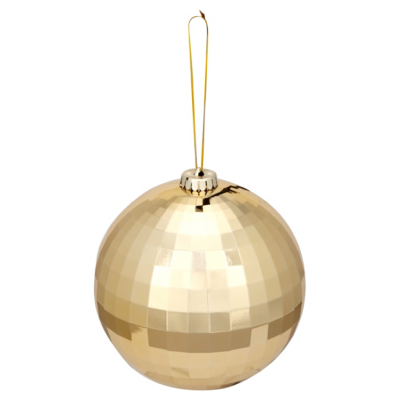 ASDA Gold Disco Ball, Brights