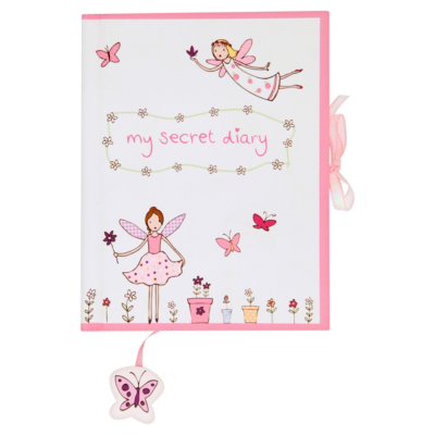 ASDA Fairy Secret Diary, Pink