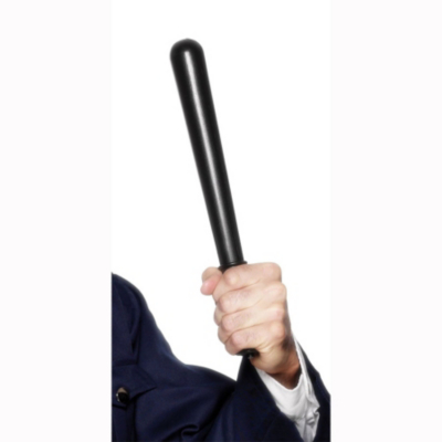 Fancy Dress Policeman's Truncheon, Black