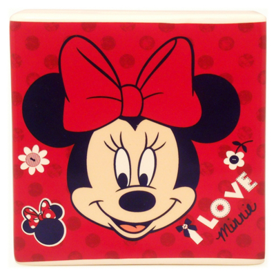 Minnie Mouse Money Box - Red, Red, Blue