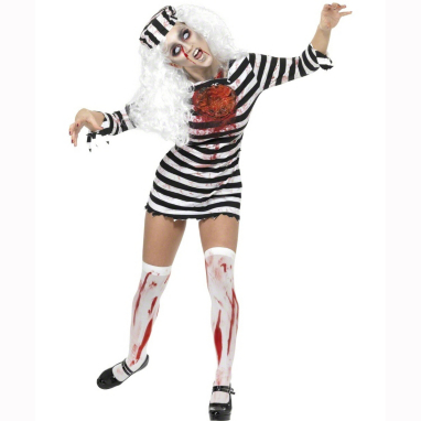 Zombie Convict Dress Costume