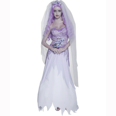 Gothic Bride Halloween Fancy Dress Costume