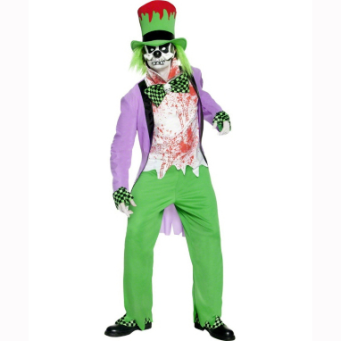 Bad Hatter Halloween Fancy Dress Costume