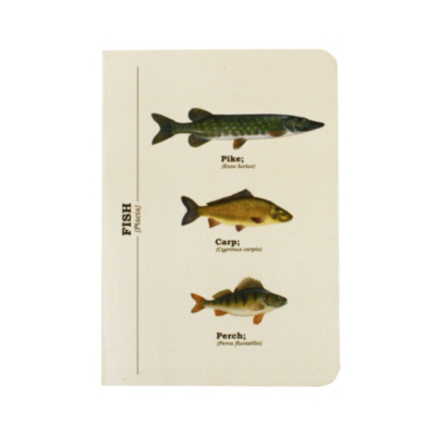 Fishes Notebook-A6, Multi