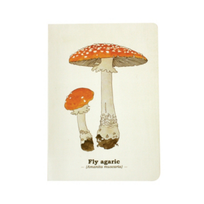 Toadstool Notebook-A5, Multi