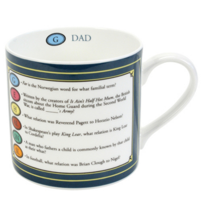 Trivial Pursuit Dad Mug, Multi