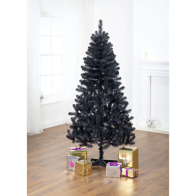 Pre Lit Half Christmas Tree: Half Price Christmas Trees @ ASDA Inc. 6ft LED Pre-Lit
