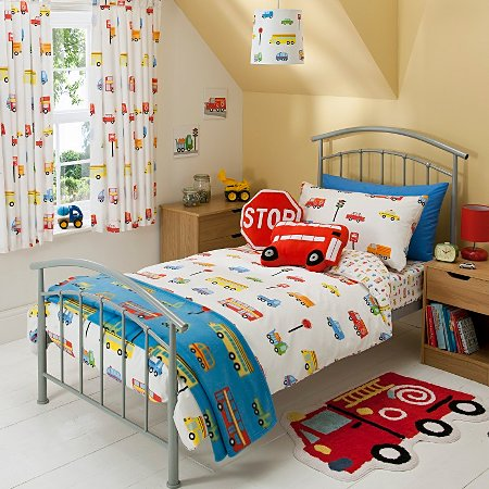 George home transport bedroom range baby bedding for Baby boy bedroom ideas uk