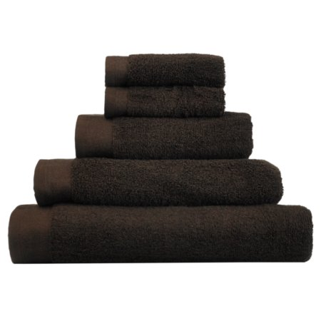 George Home Towel and Bath Mat  Range - Chocolate