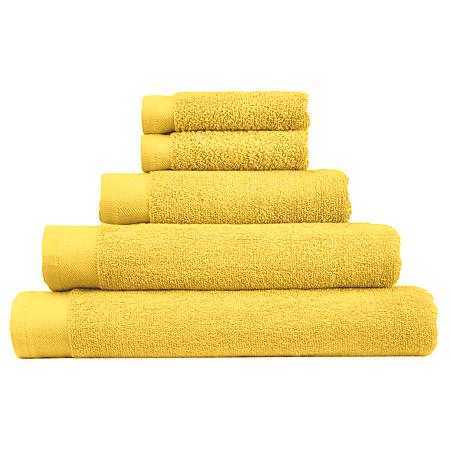 george home cotton towel range lemon monochrome asda. Black Bedroom Furniture Sets. Home Design Ideas