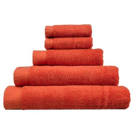 George Home Towel and Bath Mat  Range - Terracotta
