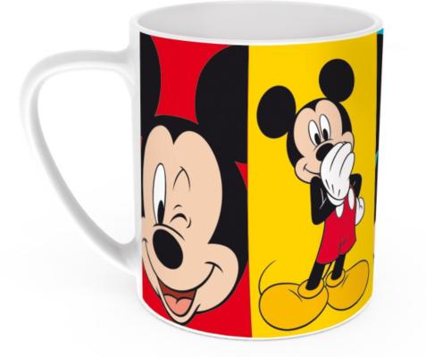 Disney Mickey Mouse Porcelain Mug MultiColoured