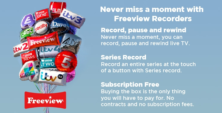 Freeview+ Recorders