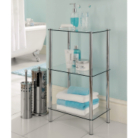 ASDA 3 Tier Glass Shelf