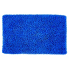 ASDA Chenille Bath Mat - Blue
