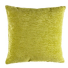 ASDA Chenille Cushion - Green
