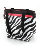 California Innovations Girls Zebra Lunch Tote