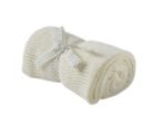 Cotton Cellular Baby Blanket - Cream