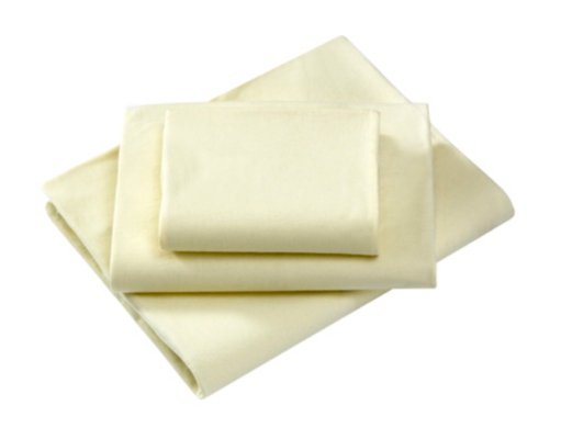 Little Angels Cream Fitted Pram Sheets - 2 Pack