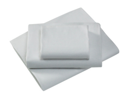 Little Angels White Fitted Cot Sheets - 2 Pack