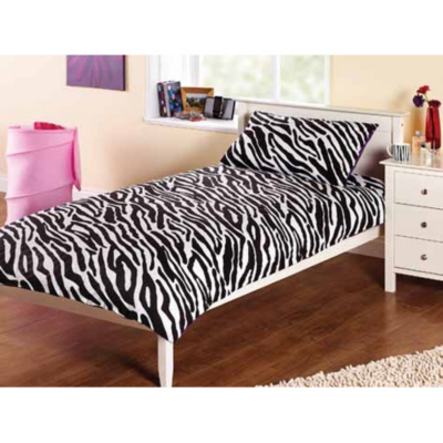 Yourzone Zebra Single Duvet Cover - Single