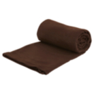 ASDA Fleece Throw - Chocolate