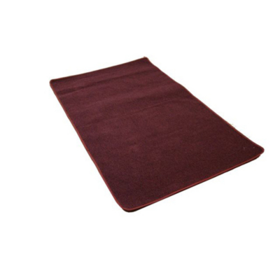 Asda Washable Rug - Red, Red