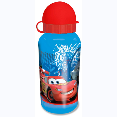 Disney Cars 2 Aluminium Drinks Bottle, Red