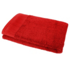 ASDA Bath Sheet - Red