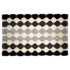 ASDA Pom Pom Bath Mat - Greys