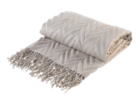 ASDA Herringbone Throw - Natural