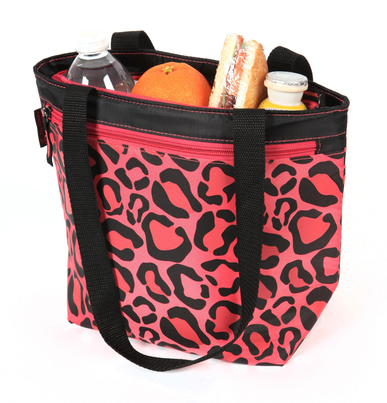 George Home California Innovations Leopard Lunch Tote ...