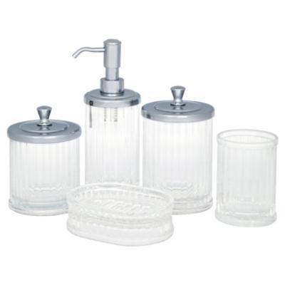 Interdesign Soap Dish - Clear, Clear DS13099BA